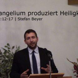 Hebräer 12:12-17 – Das Evangelium produziert Heiligkeit