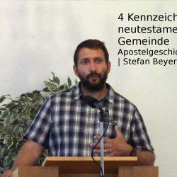 Apostelgeschichte 1,12-26 – 4 Kennzeichen der neutestamentlichen Gemeinde