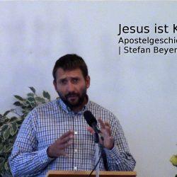 Apostelgeschichte 1,6-11 – Jesus ist König