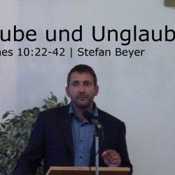 Johannes 10:22-42 – Glaube und Unglaube