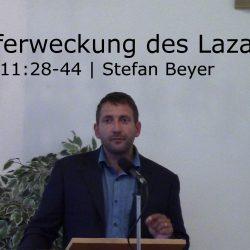 Johannes 11:28-44 – Die Auferweckung des Lazarus