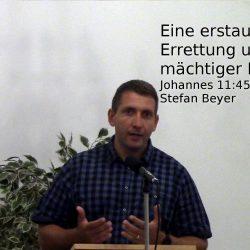 Johannes 11,45-57 – Eine erstaunliche Errettung und ein mächtiger Retter