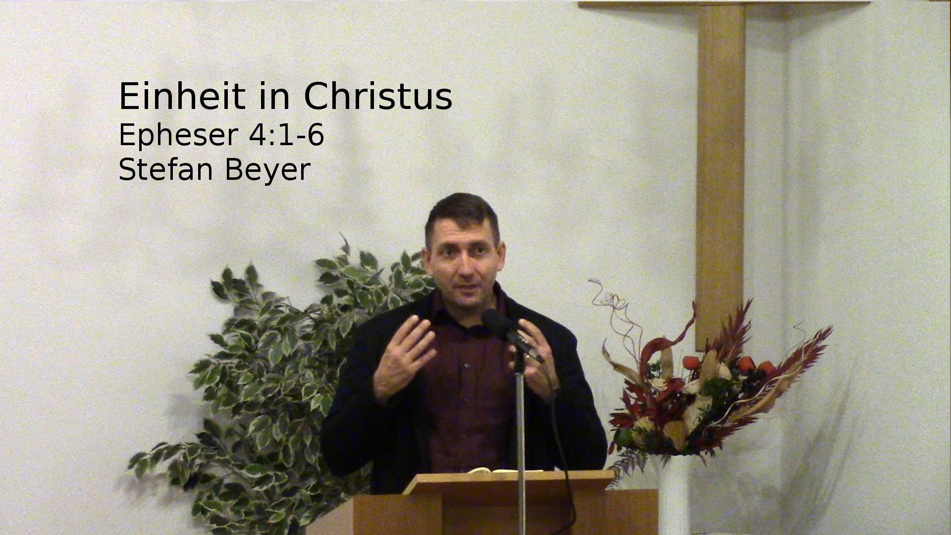 Einheit in Christus