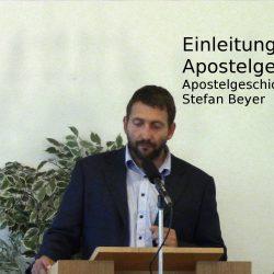 Apostelgeschichte 1,1-5 – Einleitung in die Apostelgeschichte