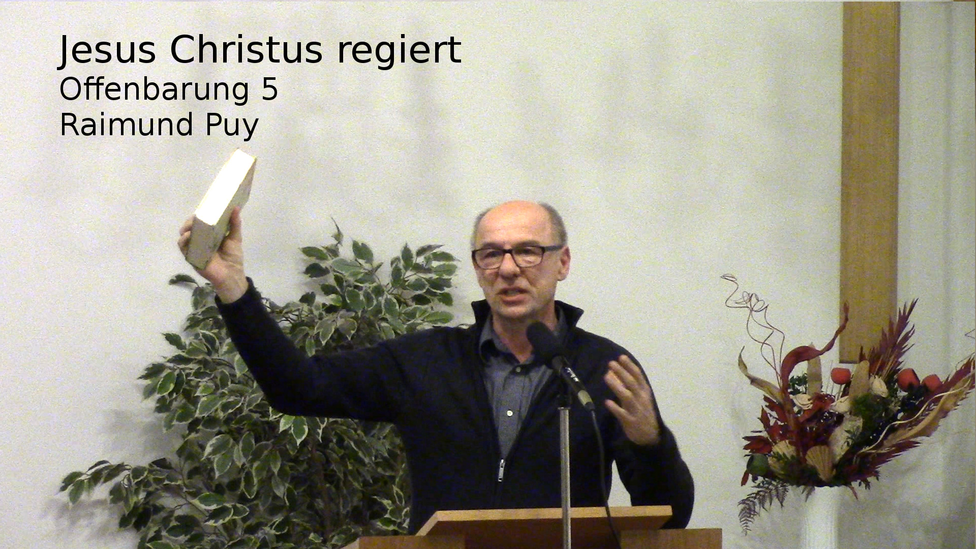 Jesus Christus regiert