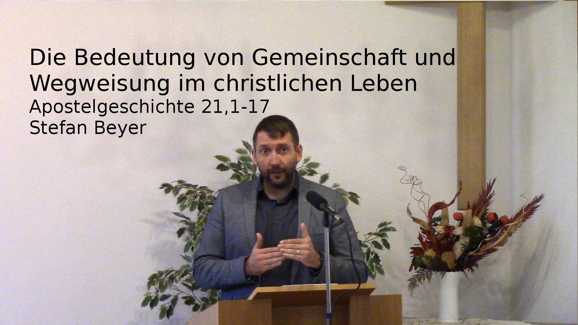 Die Bedeutung von Gemeinschaft und Wegweisung im christlichen Leben