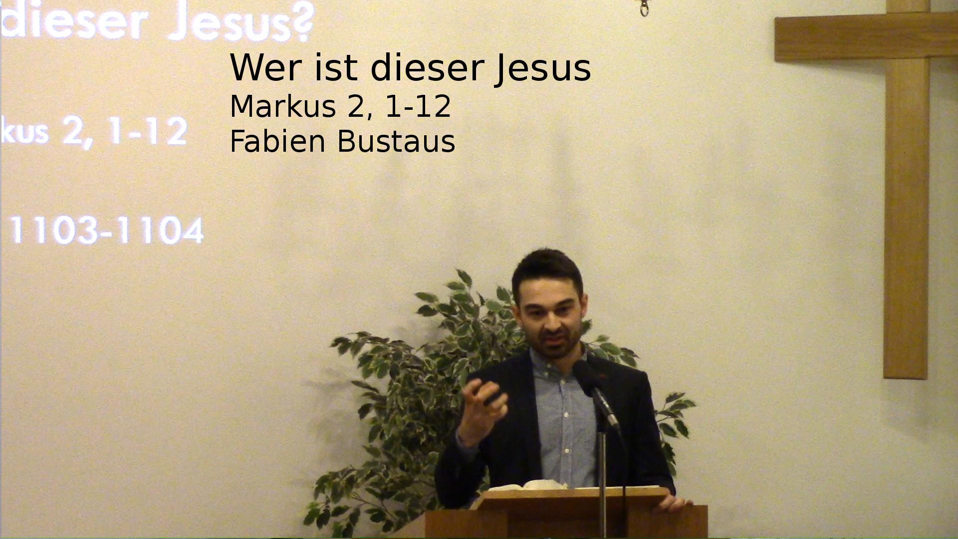 Wer ist dieser Jesus