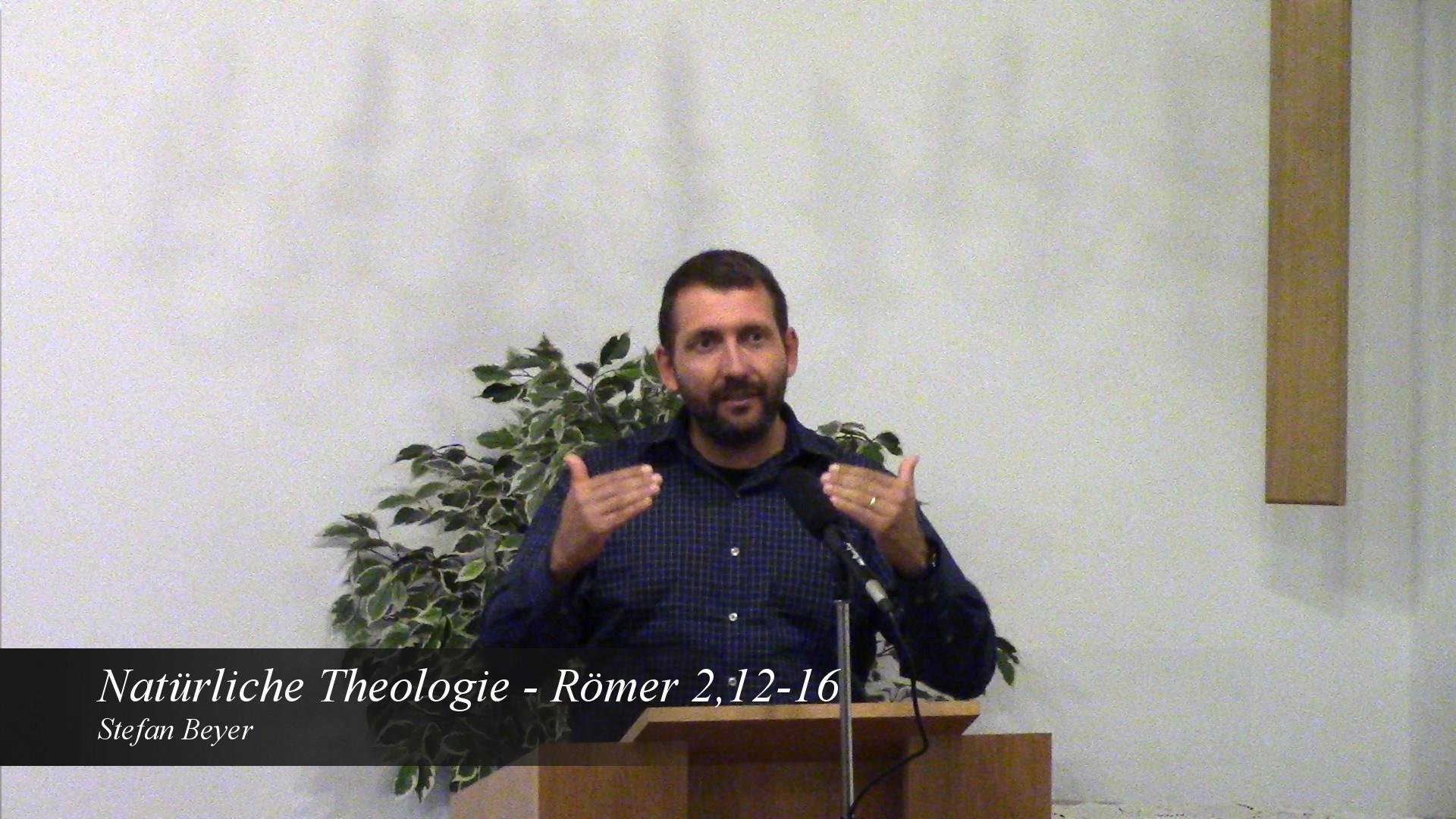 Natürliche Theologie