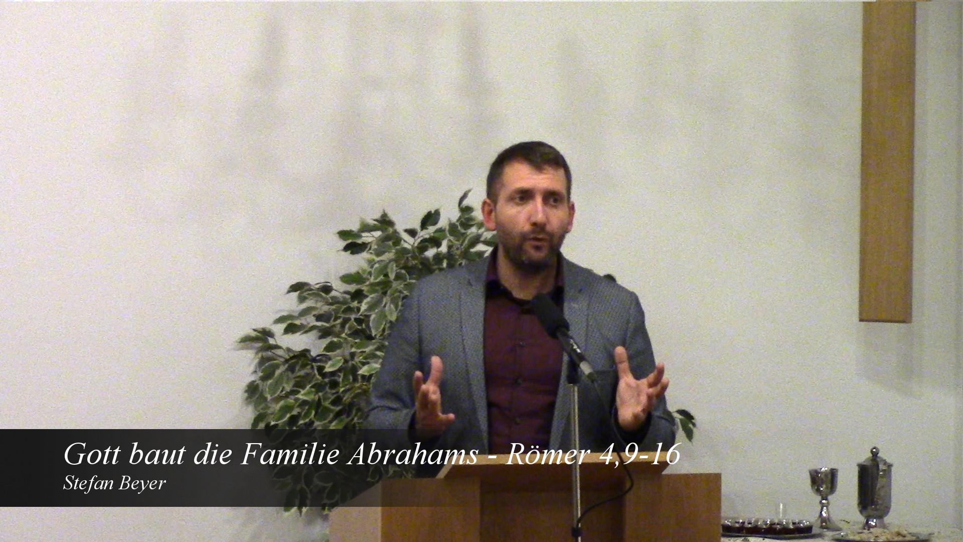 Gott baut die Familie Abrahams