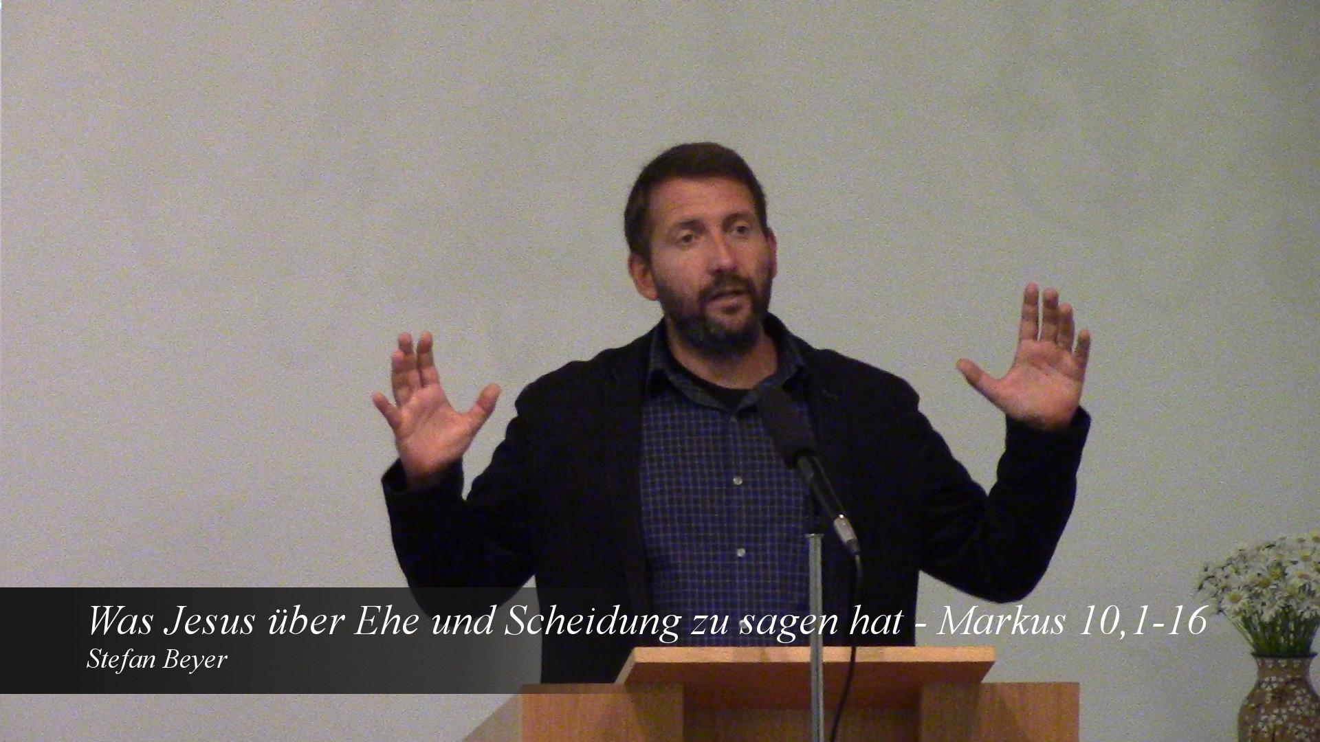 Was Jesus über Ehe und Scheidung zu sagen hat
