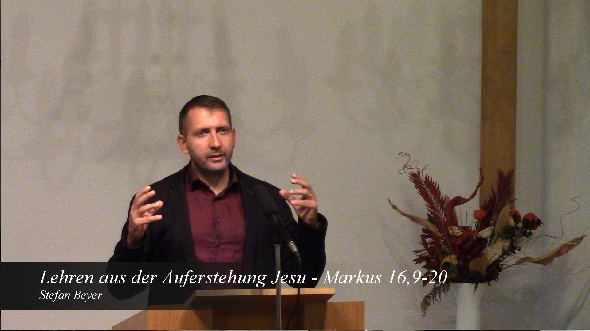Lehren aus der Auferstehung Jesu