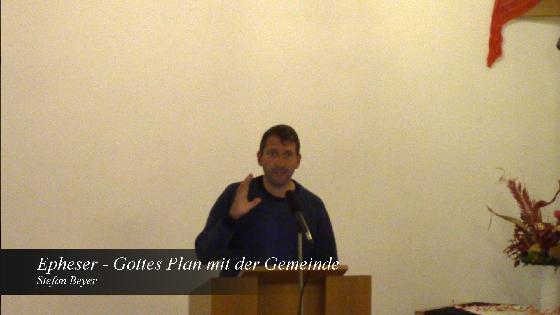 Gottes Plan mit der Gemeinde