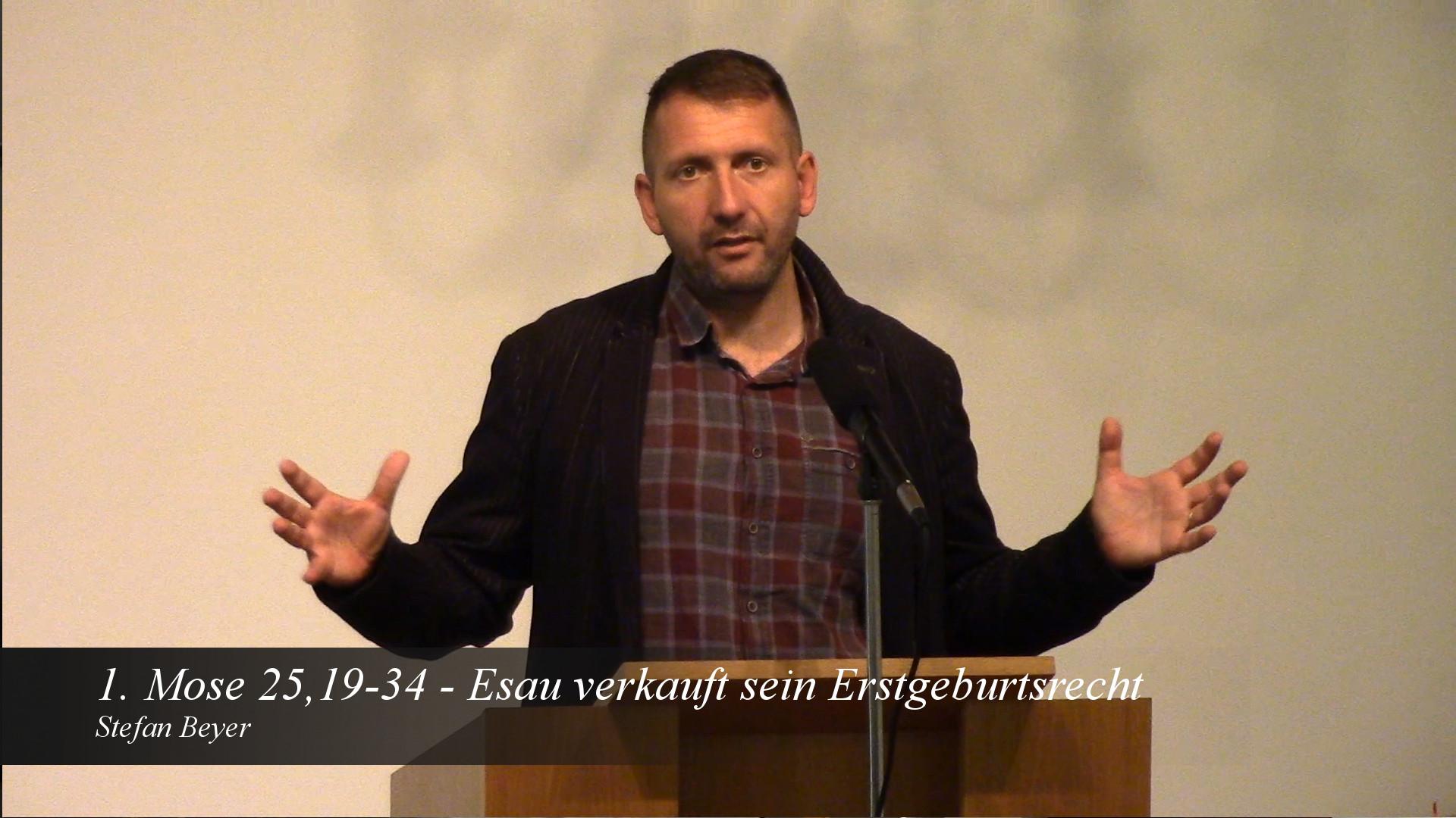 Esau verkauft sein Erstgeburtsrecht