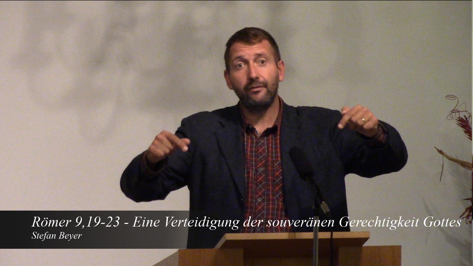Eine Verteidigung der souveränen Gerechtigkeit Gottes
